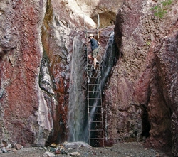 hot springs locations on colorado river, lake mohave, nv/az.